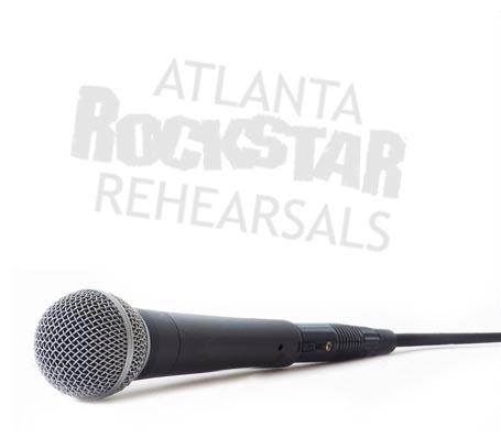 Atlanta Rockstar Rehearsals microphone